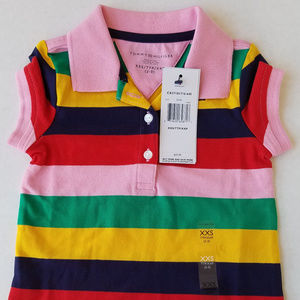 Tommy Hilfiger Girls Shirt Size XXS 2-3